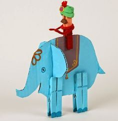 Crafty DIY - Make your own elephant and rider
