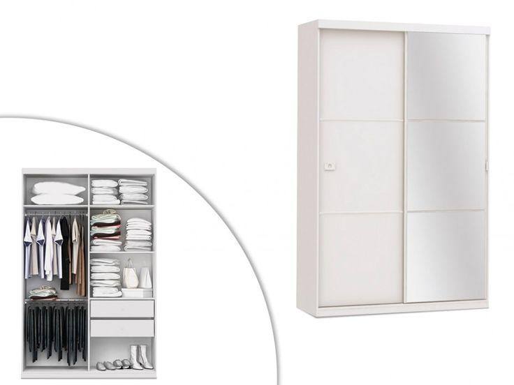 Les 25 meilleures id es concernant armoire porte coulissante miroir sur pinte - Armoire porte miroir coulissante ...