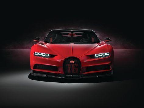 Red car, Bugatti Chiron Sport, luxury, 2018 wallpaper – #bugatti #car #chiron #l… – Autos de lujo
