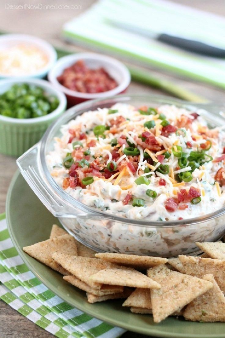 Loaded Ranch Dip - Thanksgiving Food List: 15 Creative Food Ideas for A Fabulous Thanksgiving Feast
