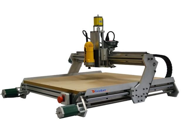 "Make a 3D Printer Using a CNC Router - the ""Deltabot"""