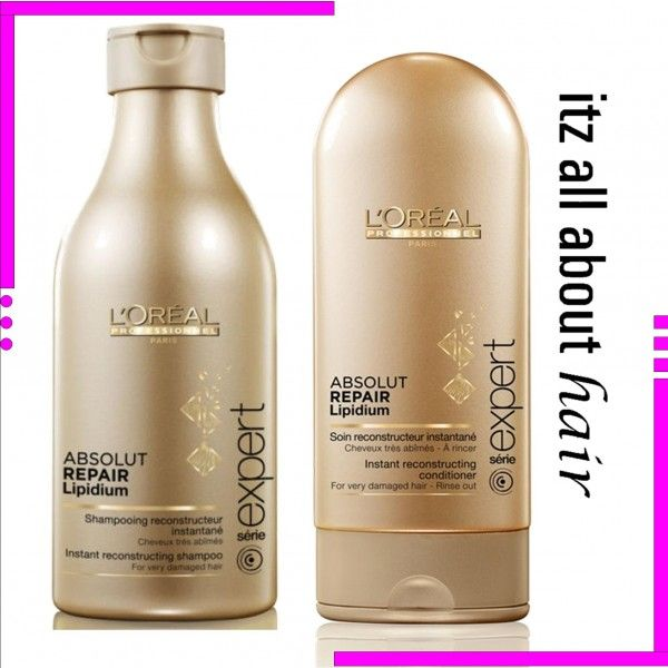 L'Oreal ABSOLUT REPAIR shampoo 250ml and conditioner 150ml Duo Genuine Loreal