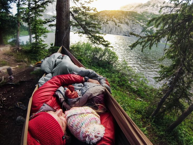 Hammock snugs are our Valentine's Day inspiration. What are you and your SO getting into this weekend? #ValentinesDay Want to capture a shot like this gem? Click for mount details! #GoPro