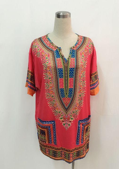 African Dashiki Shirt Tunic