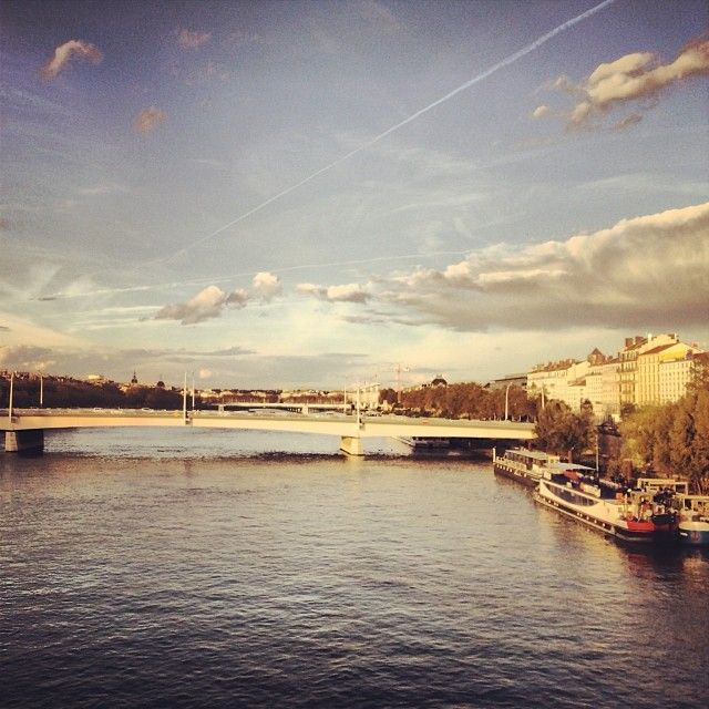 It's a city where I would like to live. So similar to Bs As. I had the change to visit Lyon for three days, I found the most beautiful, exciting places I could ever image.