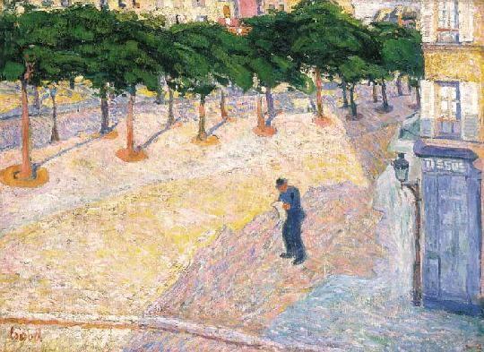 Czóbel Béla - Párizsi utca, 1905
