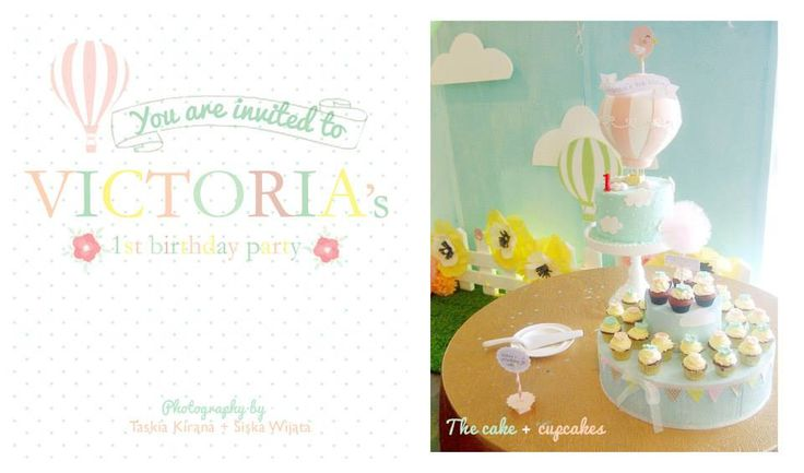 Come and take a look Victoria's first birthday party by Eve & Artistry.