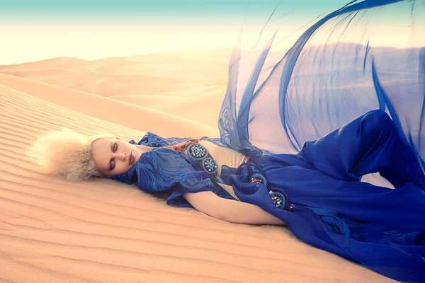 The Amato Haute Couture 2011 Features Sweeping and Sandy Styles #desert #fashion trendhunter.com