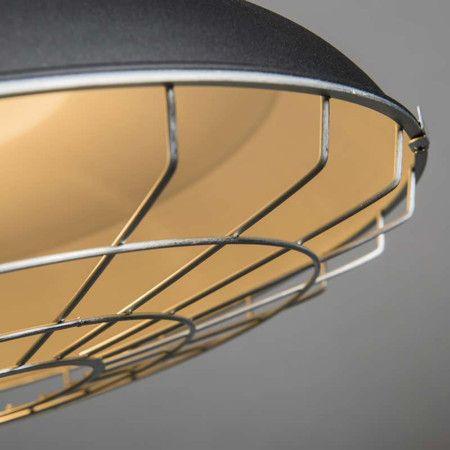 Lampa wisząca Strijp czarna #stylskandynawski #nowoczesnelampy #lampyindustrialne