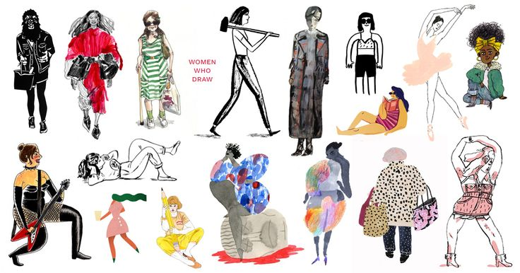 "It would be nice to think that in 2017 a site called Women Who Draw wouldn't be necessary, that equality between genders would be so ingrained by now that the idea of taking a stand to protect it would seem archaic. But it's not. ""There was one prominent magazine that uses illustration on its cover"