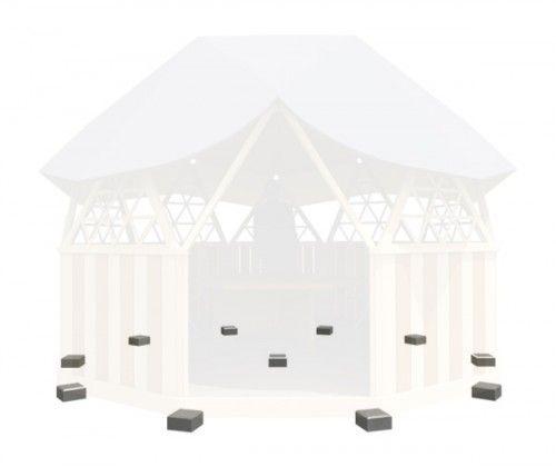 Фундамент — Геосота (универсальный геодезический купол)