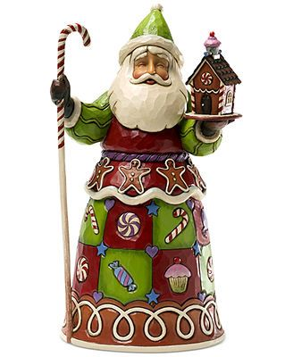 Jim Shore Collectible Figurine, Sweet Shop Santa. $55