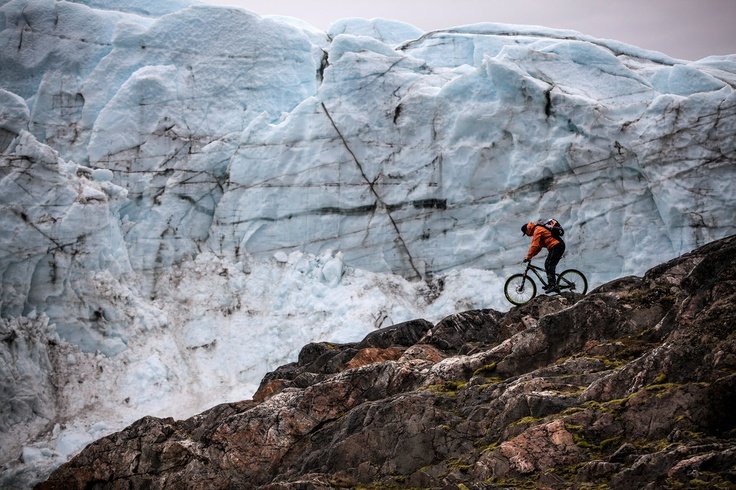 Trial biker Petr Kraus discovered Greenland this summer for a brand-new film project, coming soon.