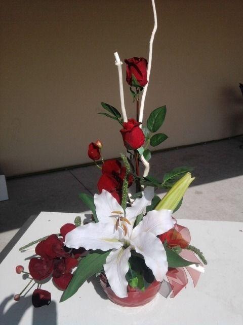 74 best images about creat tine d coration florale sur on pinterest taupe - Composition florale vase en verre ...