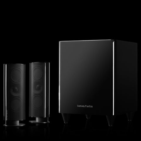 HKTS 200 | A 2.1-channel home theater speaker system with powered subwoofer | Harman Kardon US