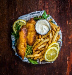 Classic Beer Battered Fish & Chips | Dennis The Prescott