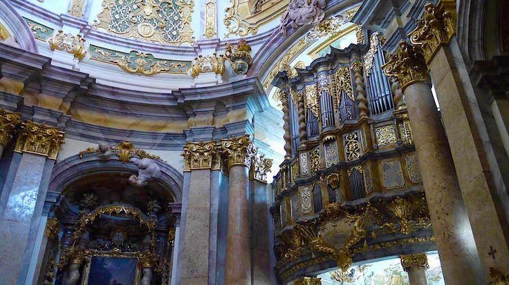 Asamkirche Orgel Kloster Weltenburg - Wanderung zum Donaudurchbruch - Weltenburger Enge bei Kehlheim Bayern