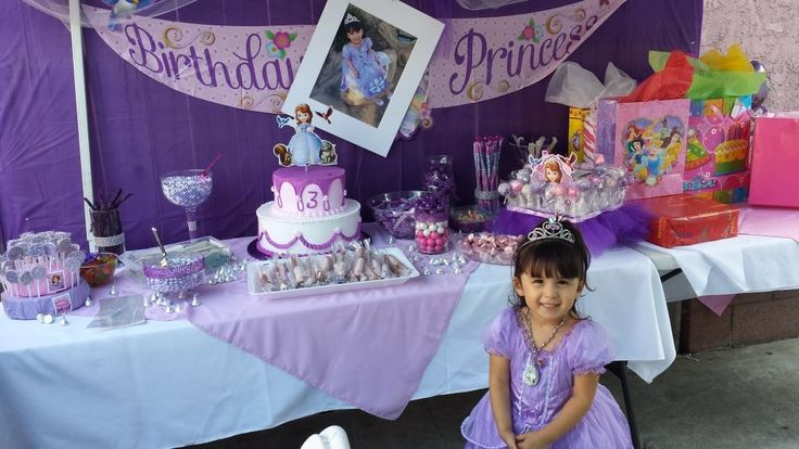 Sofia The First Birthday Party Theme For My 3 Year Old