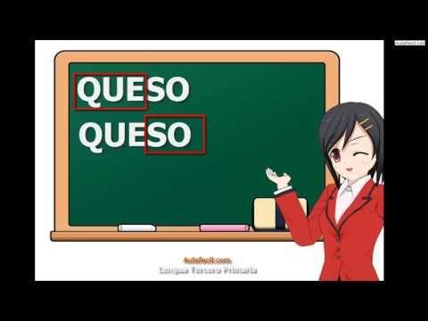 Curso gratis de Lengua Tercero Primaria (8 años) - Sílabas tónicas y átonas | AulaFacil.com: Los mejores cursos gratis online