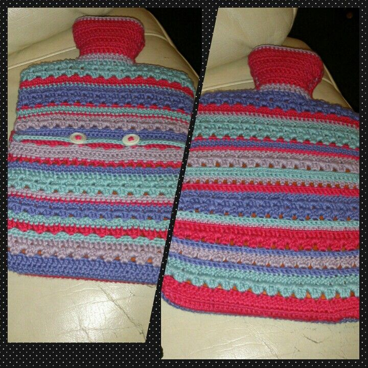 Hot water bottle cover for my daughter