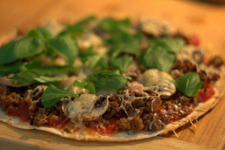Resepti - Pikapizzat tortilla pohjalla
