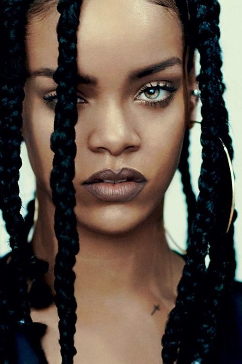occluding:Rihanna photographed by Paolo Roversi for i-D  bae