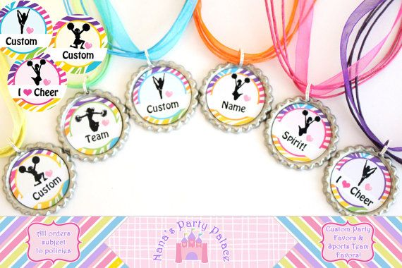 Cheerleading Team Favors  Cheer Squad Gifts  by NanasPartyPalace, $12.00
