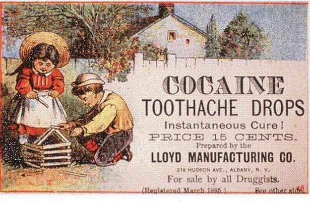 Cocaine for children? What could possibly go wrong? | 22 Insane Adverts That Would Never Get Made Today