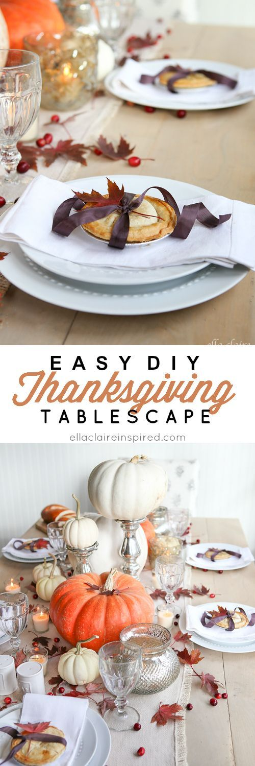 Make your Thanksgiving table extra special this year with these DIY ideas!