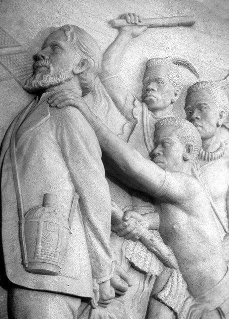 Bas-relief inside the Voortrekker Monument, Pretoria...   Flickr - Photo Sharing!