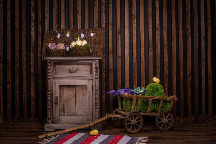 Пасхальные интерьеры в Томске в фотостудии Маска 89131105608