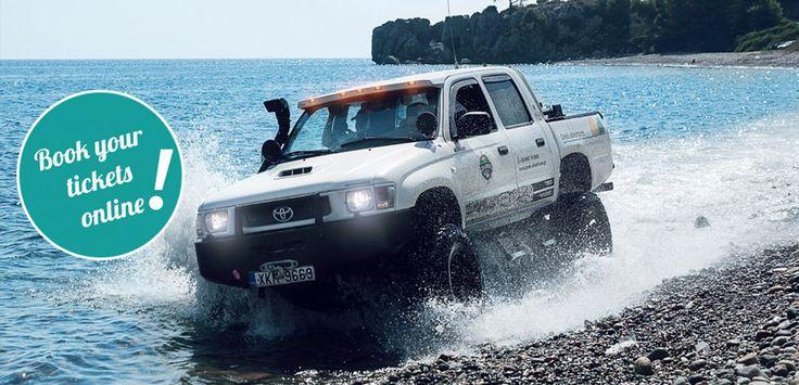 A unique adventure : VIP #Jeep Safari ( #Sithonia – #Kassandra – North #Halkidiki) #Greece #tickets