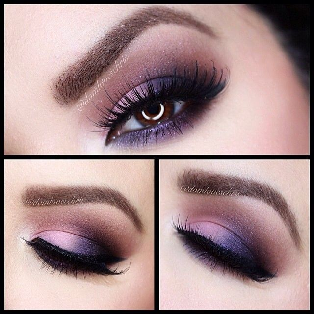 """This look is inspired by the Chocolate Bar palette from @Too Faced Cosmetics. It came with 3 glamour guides. This one is called """"Semi-sweet"""""""