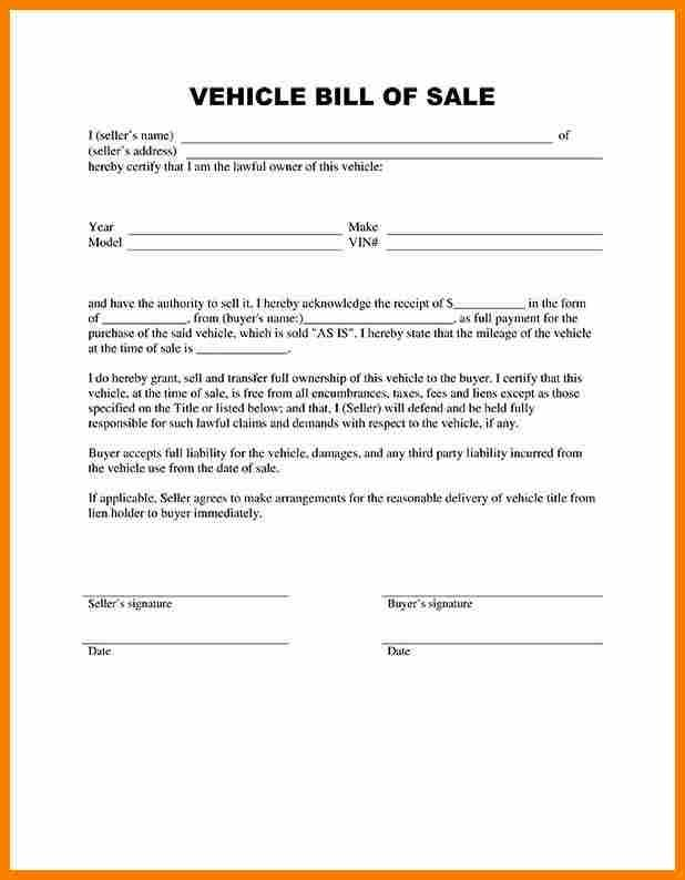How To Write A Bill Bill Of Sale Template Budget Spreadsheet
