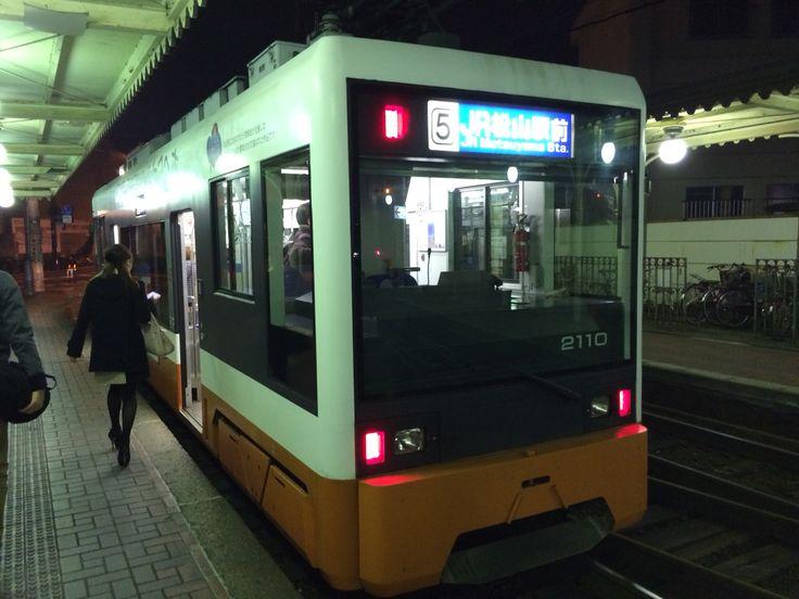 伊予鉄市内電車