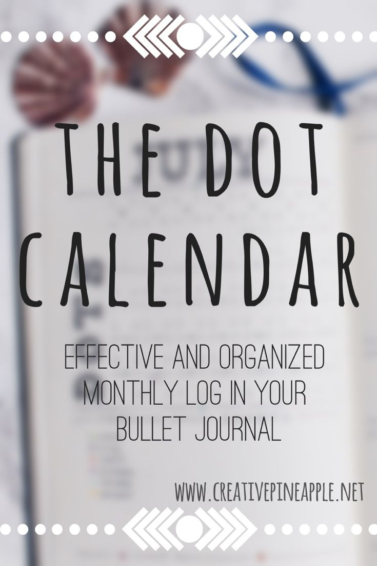 I started a blog! Here's one of my first blog posts about the Dot Calendar I created for my Bullet Journal to fit my lifestyle with mostly recurring events :)