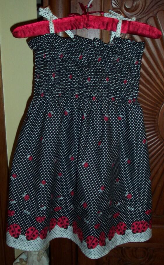 Dress for my niece made by Aunty Donna