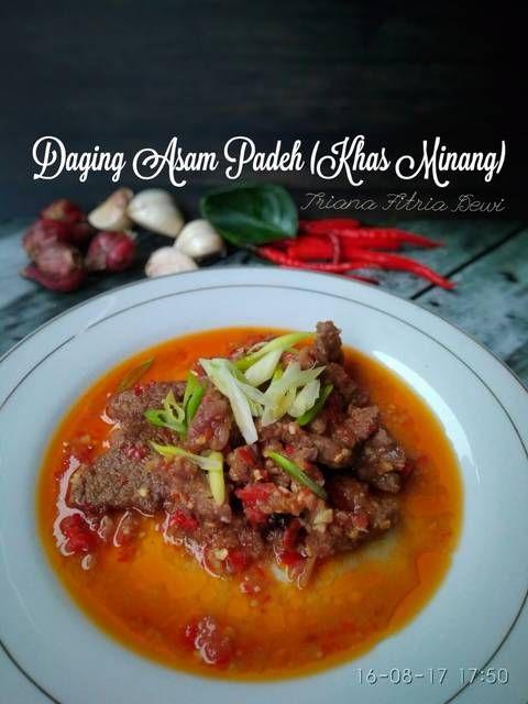 Resep Daging Asam Padeh (Khas Minang) by Triana Fitria (Ummu Silmi)