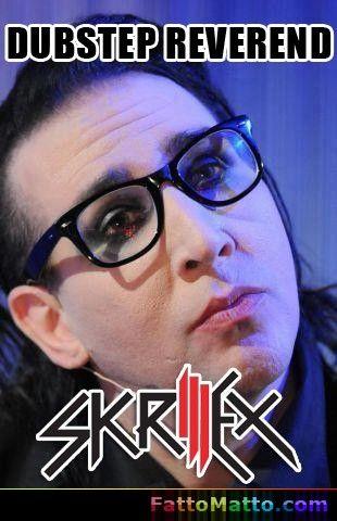 Skrillex - Dubstep Reverend - via FattoMatto.com - #FattoMatto #Skrillex #Dubstep