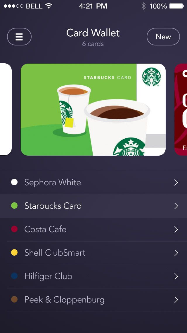 Card Wallet卡片列表页面设计,...@无敌的被窝君采集到UI-App-iOS-New(未分类)(924图)_花瓣