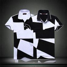 Лето 2015 Новый Летний рубашки Поло Мужчин Дышащий Повседневная Твердые Мужские Рубашки Поло Бренды Хлопок Slim Fit Поло Hombre S-3XL(China (Mainland))