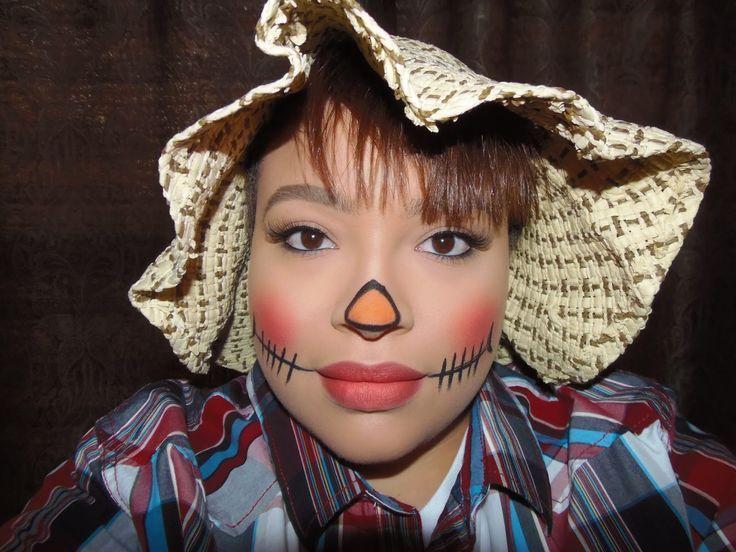 Scarecrow+Makeup+Ideas+for+Women Halloween costume