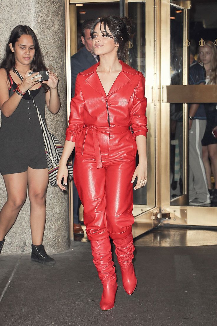 Camila Cabello leaving The Tonight Show