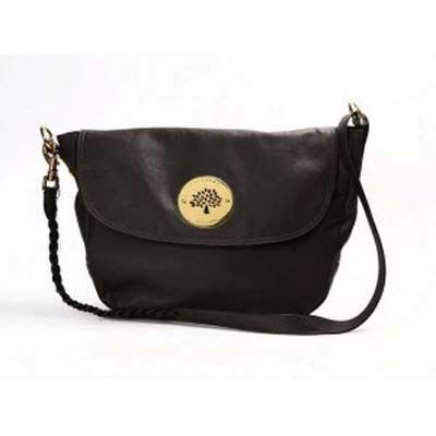 Mulberry Messenger Daria Pewter Satchel
