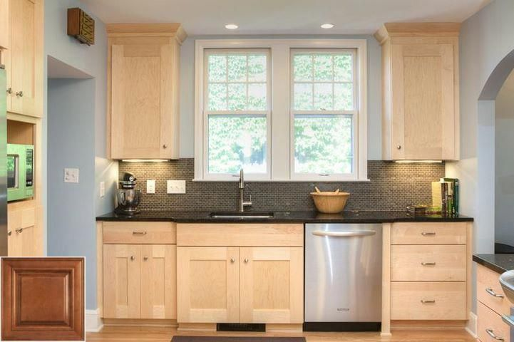 History Of Kitchen Paint Colors With Oak Cabinets And Dark Countertops Oakkitchencab Maple Kitchen Cabinets Birch Kitchen Cabinets Custom Kitchen Cabinets