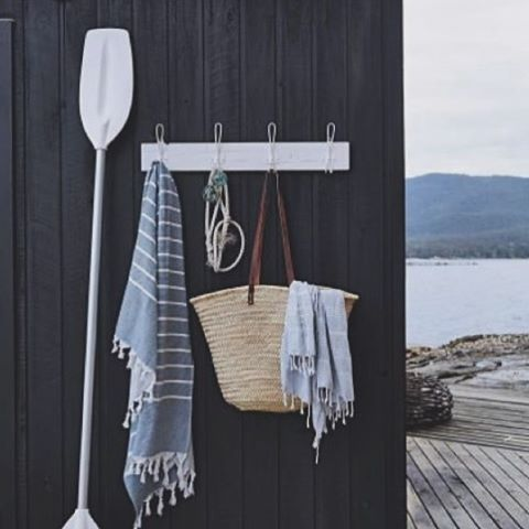 A reminder of much warmer days. We still have a few of these Denim Turkish Towels in stock for only $39. Perfect for travel as they pack small - lets go somewhere warm ☀️📷 via @homelife.com.au on @Pinterest #isitsummeryet #somewherewarm #turkishtowels #denim #everydayluxury #whitehomeboutique #shoponline