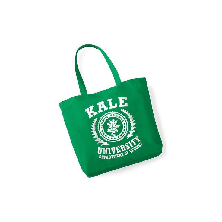 Zielona torba Kale University | VegDesign