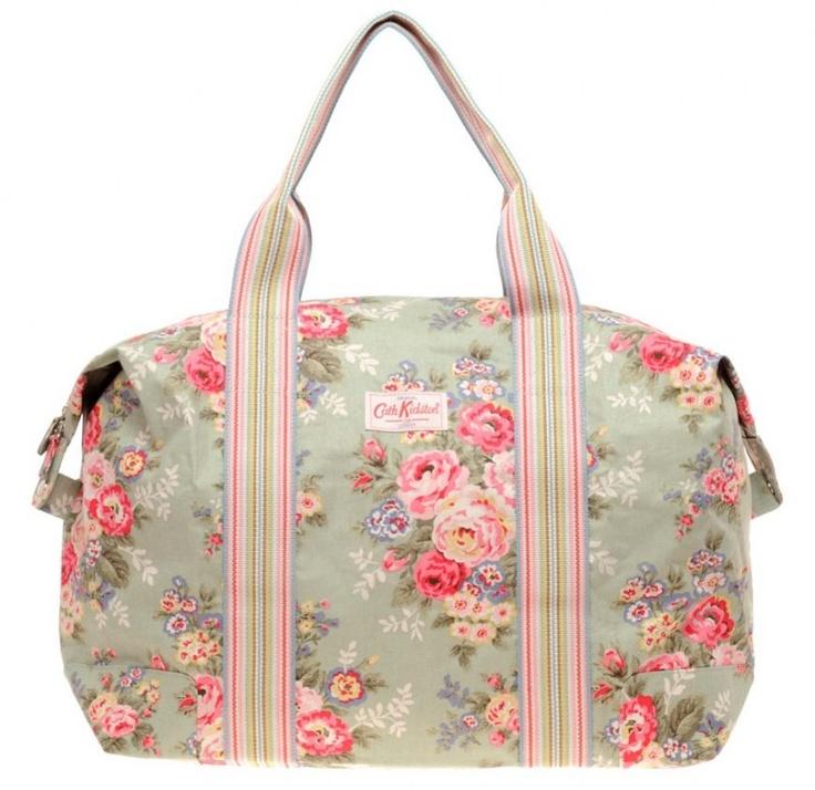 cath kidston bag, so pretty!