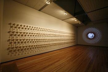 ©Ngaahina Hohaia - | Maori | Art | Installation | Poi |
