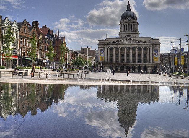 UK Cities and Countryside Nottingham
